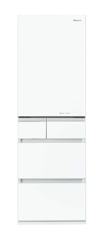 パナソニック 冷蔵庫 5ドア 450L パーシャル搭載 スノーホワイト NR-E454PX-W  スノーホワイト B07GXGTLH2