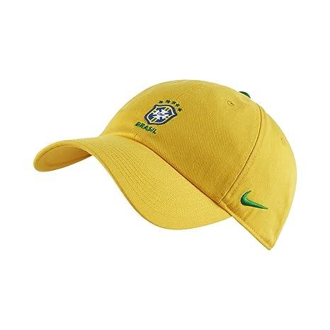 f48781147 Nike 2018-2019 Brazil Core H86 Cap (Yellow)