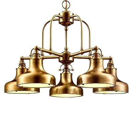 Nautical 5-Light Chandelier Antique brass - Amazon.com: Nautical 5-Light Chandelier Antique Brass: Home & Kitchen