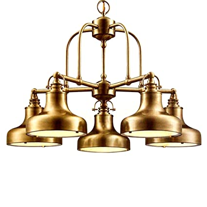 Amazon nautical 5 light chandelier antique brass home kitchen nautical 5 light chandelier antique brass aloadofball Gallery