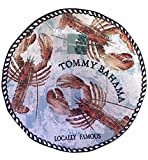 Tommy Bahama Lobster Print Large Melamine Serving Platter