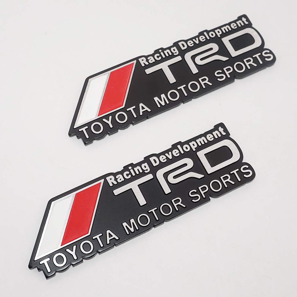 US85 Auto TRD Racing Development Emblem Badge Sticker Decal Toyota Motor Sports