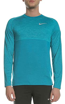 Strong-Willed Mens Nike Dri Fit Running Top In Xl Quality Turquoise Excellent