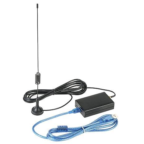 KKmoon Full Band UV HF RTL-SDR USB Tuner Receiver/R820T+RTL2832U AM CW FM  DSB LSB With a Testing Antenna 100KHz-1 7GHz