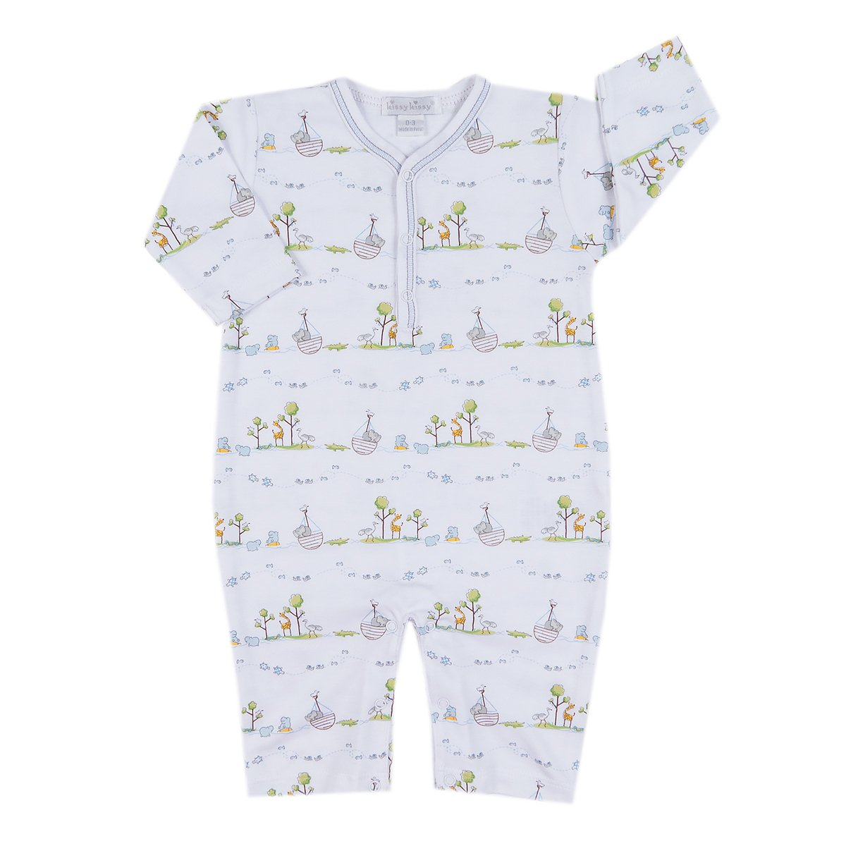 Kissy Kissy Baby Boys Noahs Print Playsuit