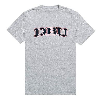 24be3a24 DBU Dallas Baptist University NCAA Game Day Tee t Shirt, Small Heather Grey