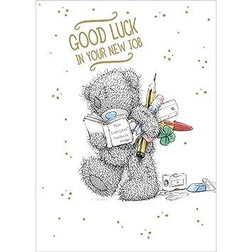 Good luck new job me to you bear card amazon toys games good luck new job me to you bear card m4hsunfo