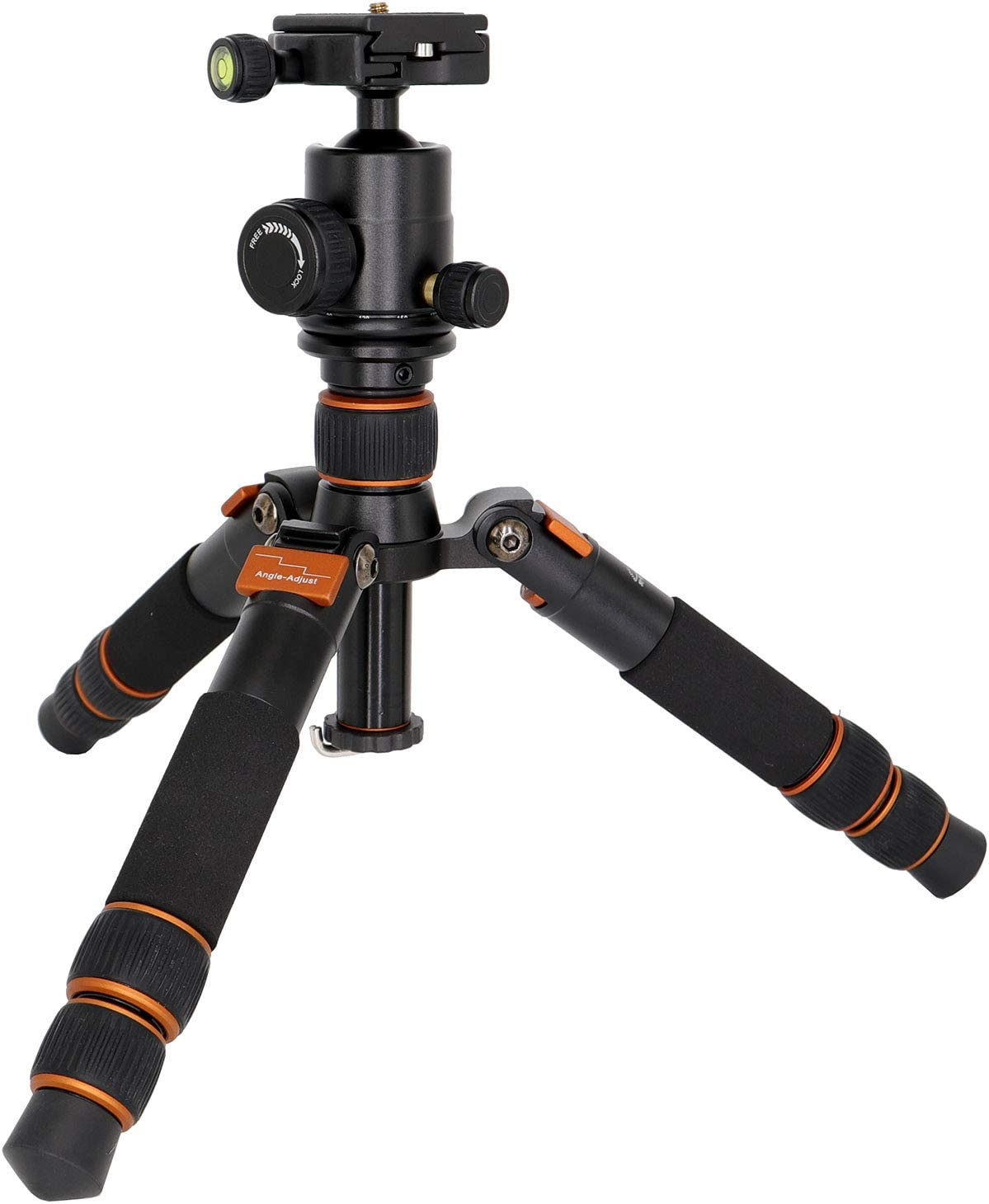 Koolehaoda 55-inch Lightweight Camera Tripod Monopod with Ballhead for DSLR Camera only 1.12KG//2.46 pounds. KQ-999 Lightweight