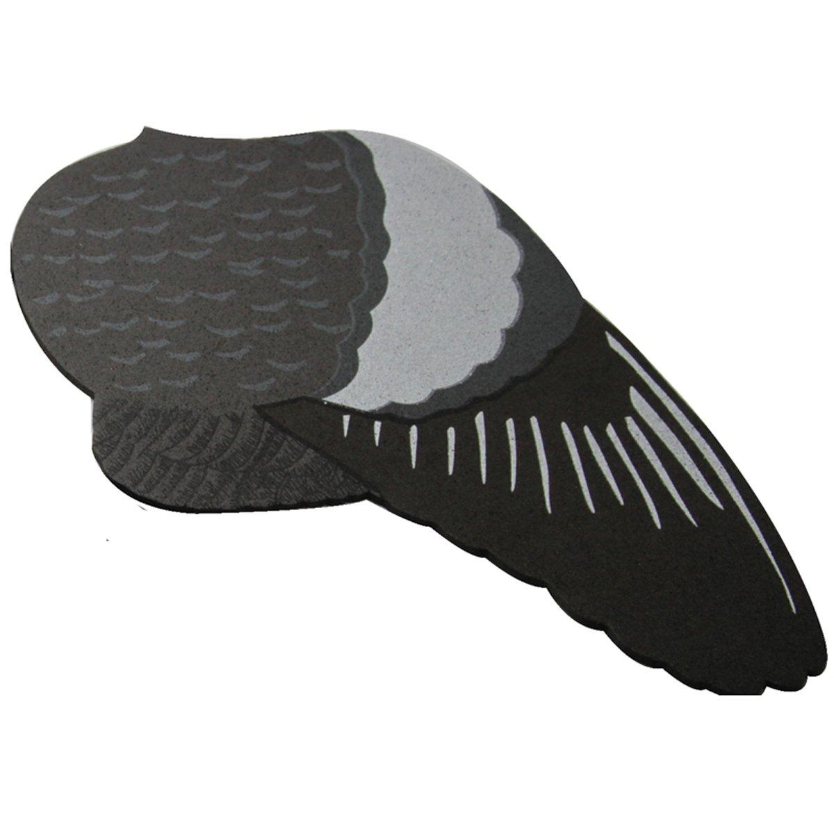 GUGULUZA EVA alas y Cola para Palomas se/ñuelo Alta detallado Impreso par de alas y Cola de Aterrizaje para Flying Dove Decoy