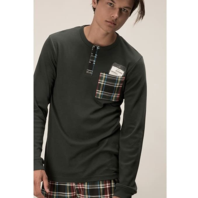 Pijama CUADROS de Hombre GISELA (S)
