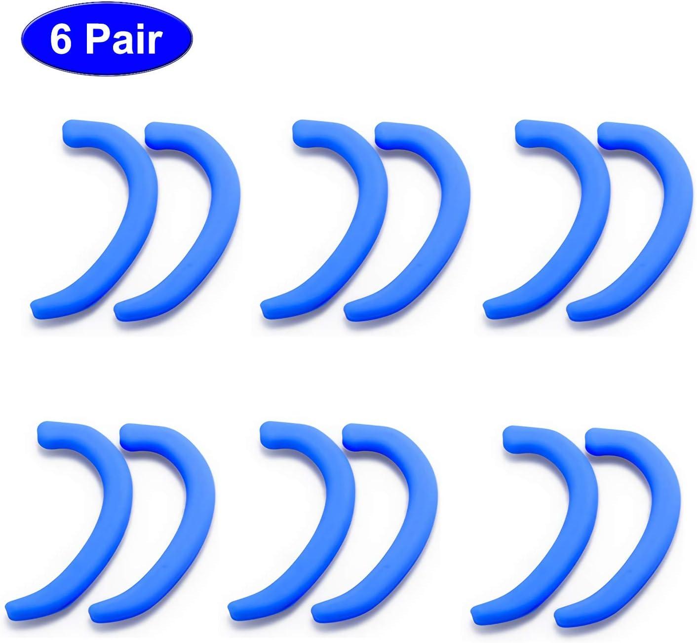 6 Paar Silikon Ohr Haken Wiederverwendbar Anti-Rutsch Maske Ohr Halter Ohrb/ügel schmerzbest/ändigen Ohr Schutz Halter Zubeh/ör Silikon Ohrhaken