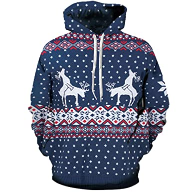 Lolittas Christmas 3D Hoodie Mens Max Size Oversized Longline Out Hoody  Sweater Asymmetric Pullover Sweatshirt Top 0cd642468