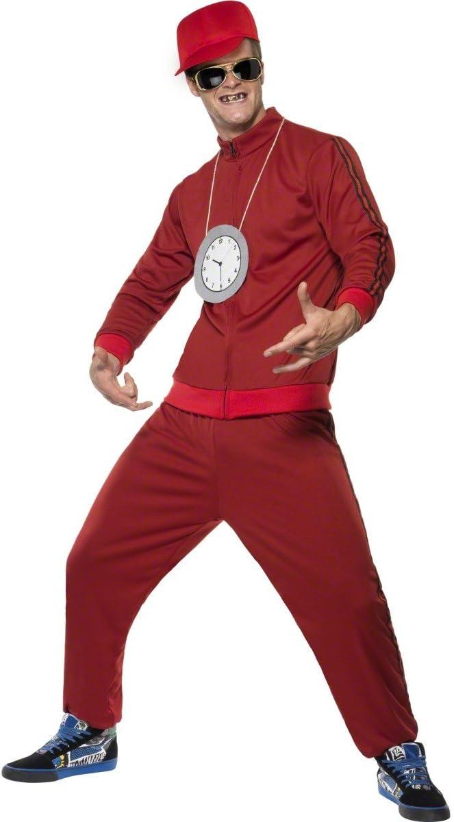 Smiffys - Disfraz de rapero para hombre, talla UK 38 (39342M ...