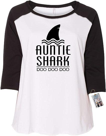 Aunty Shark Doo Doo Doo Womens Sweatshirt Baby Shark Doo Doo Doo