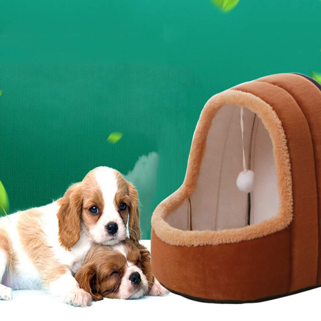 C Small C Small Gperw Dog Bed Cat Nest Pet Nest Pet Bed Four Seasons Universal Kennel Cat Supplies Pet Nest Cat Bed Play Sleep One Pet Bed Pet Mat Non Slip Cushion Pad (color   C, Size   Small)