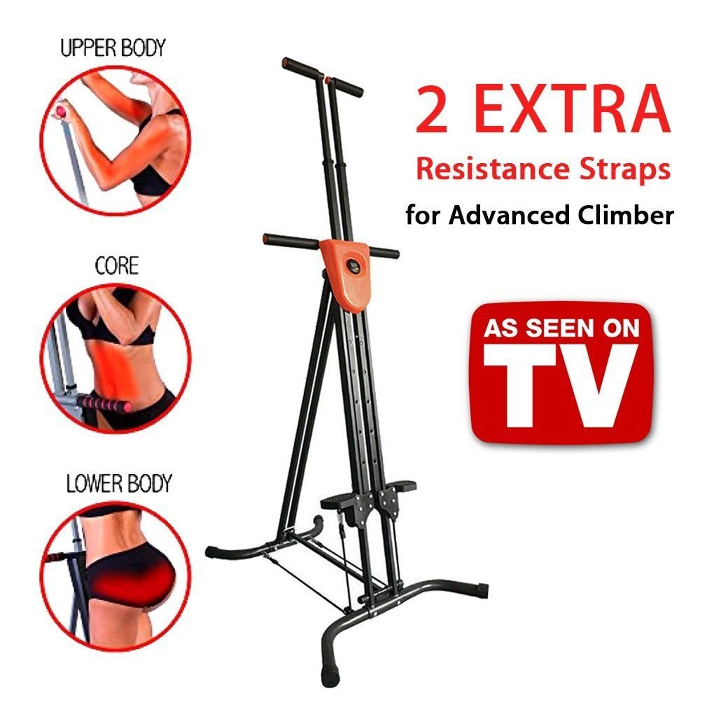 G4-MAX Vertical Climber for Home Gym Folding Exercise Cardio Workout Machine Stair Stepper