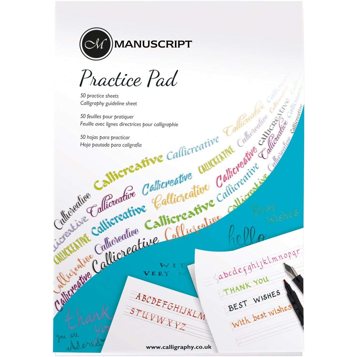 ebook - Pad A4, 50 hojas para caligrafía: Amazon.es: Hogar