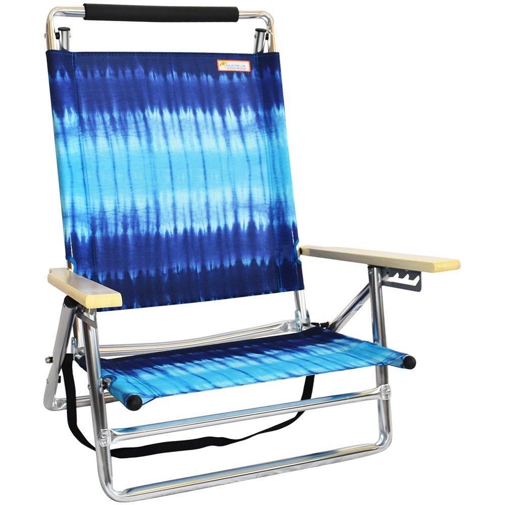 5位置Layflat FoldFlatビーチ椅子 B072521KNF