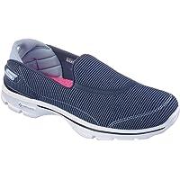 Skechers 斯凯奇 GO WALK 3系列 女 时尚轻质一脚蹬健步鞋 13989