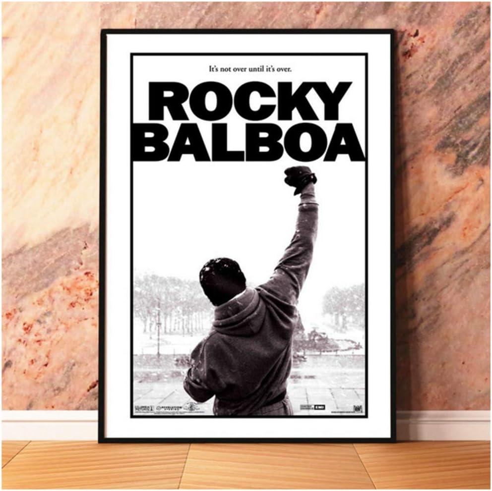 40x60cm Kein Rahmen sjkkad Rocky Balboa 1976 Filmplakate und Drucke Wandkunst Dekorative Bild Leinwand Malerei F/ür Wohnzimmer Wohnkultur