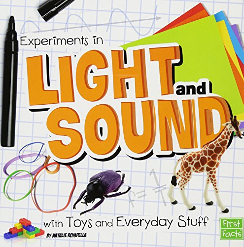 Experiments in Light and Sound with Toys and Everyday Stuff (Fun Science)