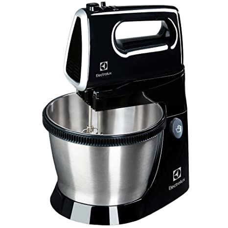 Electrolux Love Your Day Collection Batidora de repostería con bol de acero inoxidable de 3.5 litros de capacidad, 450 W, 85 Decibelios, 2 ...