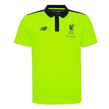 New Balance 2016-2017 Liverpool Pro Polo Shirt (Toxic)  Amazon.co.uk ... 85482a1c5