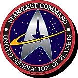 Aquarius Star Trek Starfleet Logo Funky Chunky Magnet