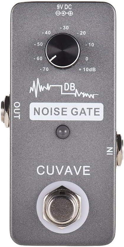 Muslady CUVAVE Reducción de Ruido Efecto Pedale para Guitarra True Bypass