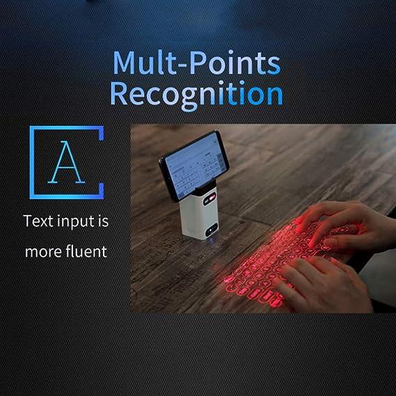 SYXX Proyección Teclado Bluetooth Teclado Virtual láser ...