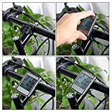 ArMordy(TM) 3 in 1 Wireless Bicycle Computer Bike Odometer Speedometer LCD Display With Cadence Heart Rate Monitor