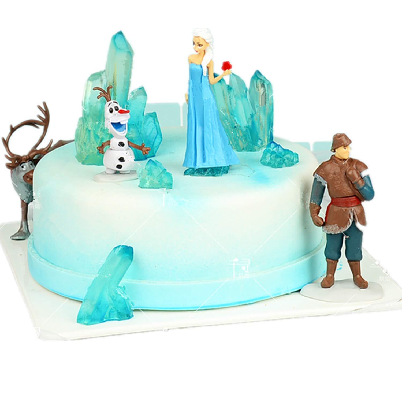 Isomalt Gems,Polymer Clay Set of 4 Sakolla Crystal Gem Silicone Fondant Mold for Cake Decoration,Resin Epoxy Candle