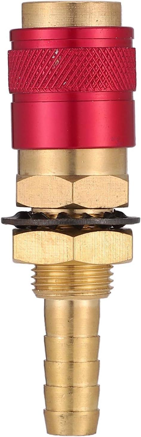 CUHAWUDBA 2 Teile//Satz 8Mm Schnell Kupplung rmaturen Wasser Gek/üHlt /& Gas Fitting Schlauch f/ür WIG Schwei?En Brenner Werkzeuge Zubeh?R