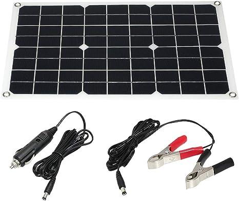 30W 18V Módulo de Panel Solar monocristalino de enjoysolar ...