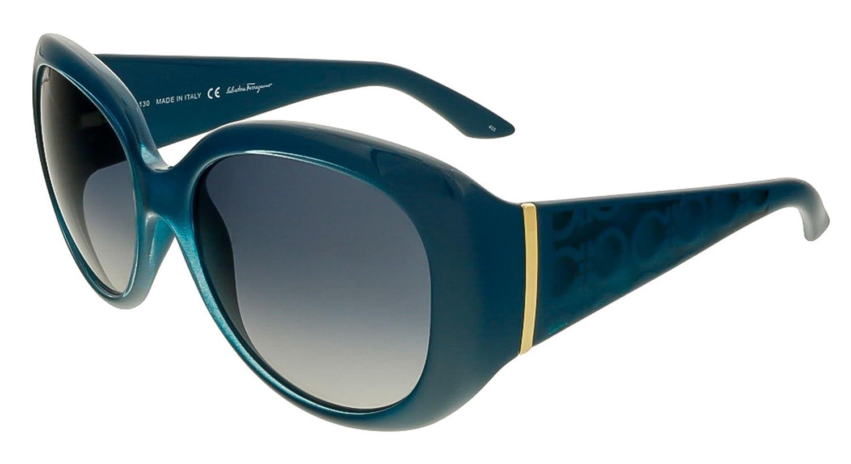 a4ebe61d801 Amazon.com  Salvatore Ferragamo Women s SF721S-416-55 Sunglasses ...