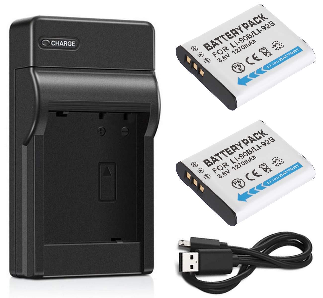 Batería (2 Unidades) y Cargador USB para cámara Digital ...