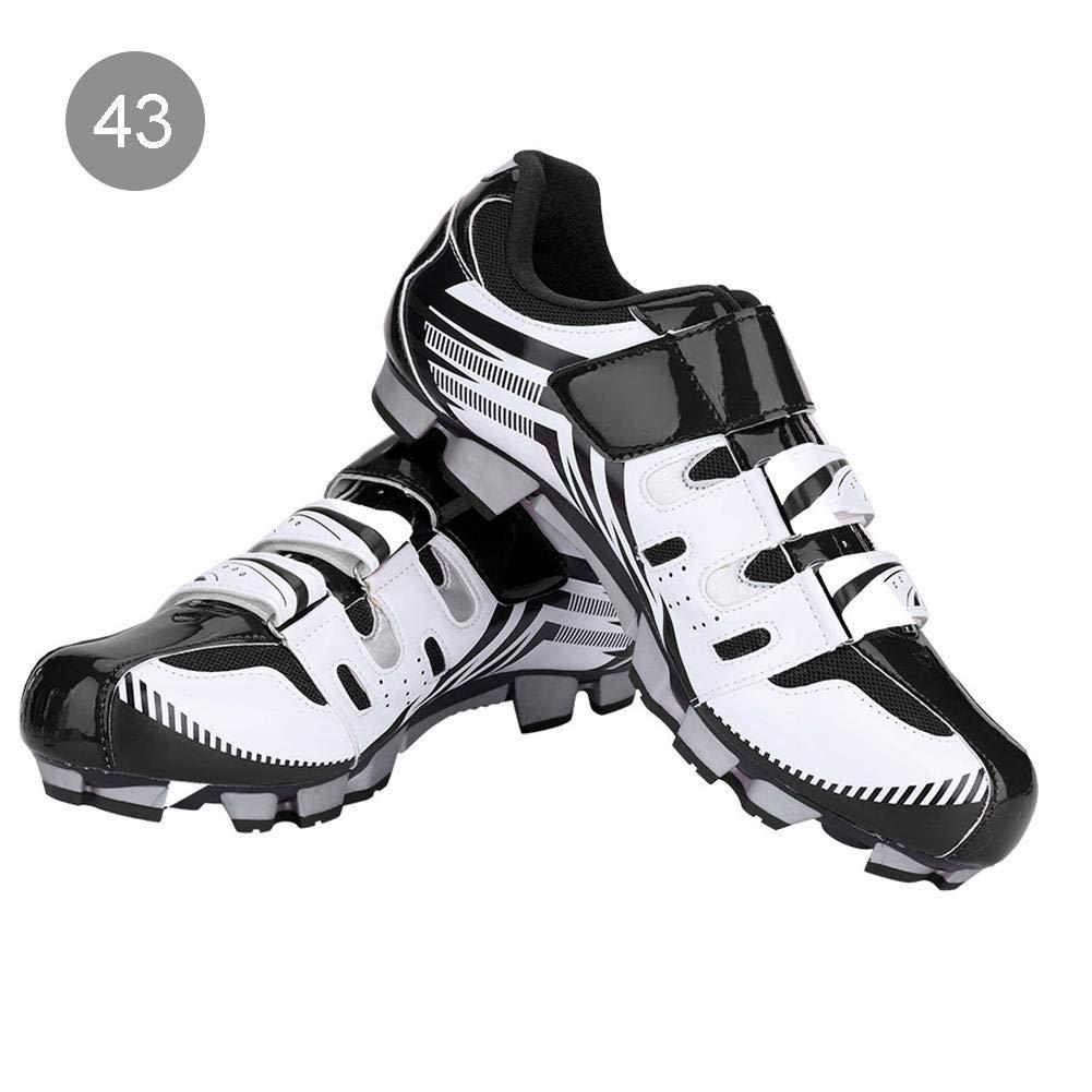 Alomejor 1 Paar Radfahren Schuhe Atmungsaktiv Männer Mountainbikeschuhe SPD Anti-Rutsch Radsportschuhe für MTB Mountainbike