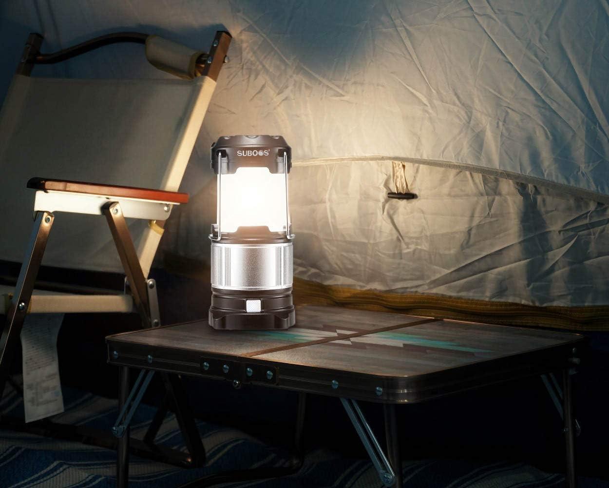 /lightweight- visi/ó taller suboos Ultimate LED recargable Farol y banco de energ/ía/ /Plegable/ Senderismo Auto Emergencia/ /la mayor/ía de LED Lantern- ideal para: profesionales Camping