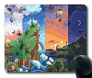 "24 Hours Custom (20571) Anti Slip Comfort Mouse Pad Rectangle Gaming Mousepad in 220mm*180mm*3mm (9""*7"")"