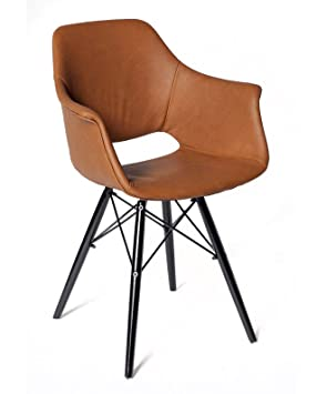 kayelles lot de 2 chaises design soho chaise scandinave pitement en mtal et bois - Chaise Scandinave Design