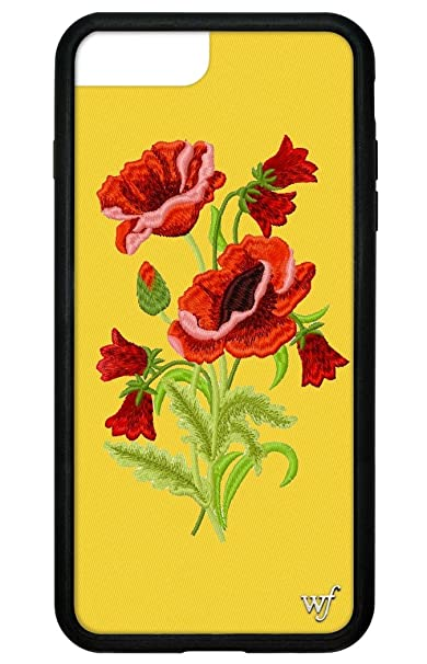 wholesale dealer 1695e bedd2 Wildflower Limited Edition iPhone Case for iPhone 6 Plus, 7 Plus, or 8 Plus  (Yellow Floral)