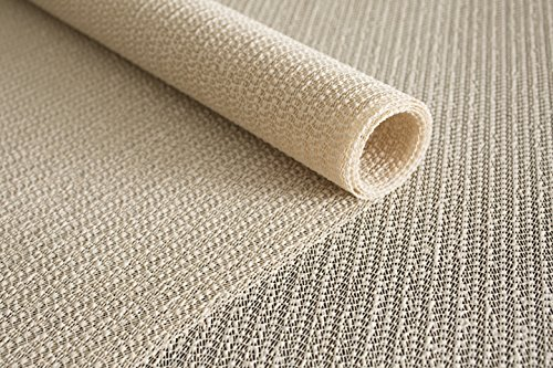 Rug Pad USA ECON-212 Eco no-Lock  tural Rubber Rug Pad Open-Weave Rug Gripper, 2' X 12', Cream