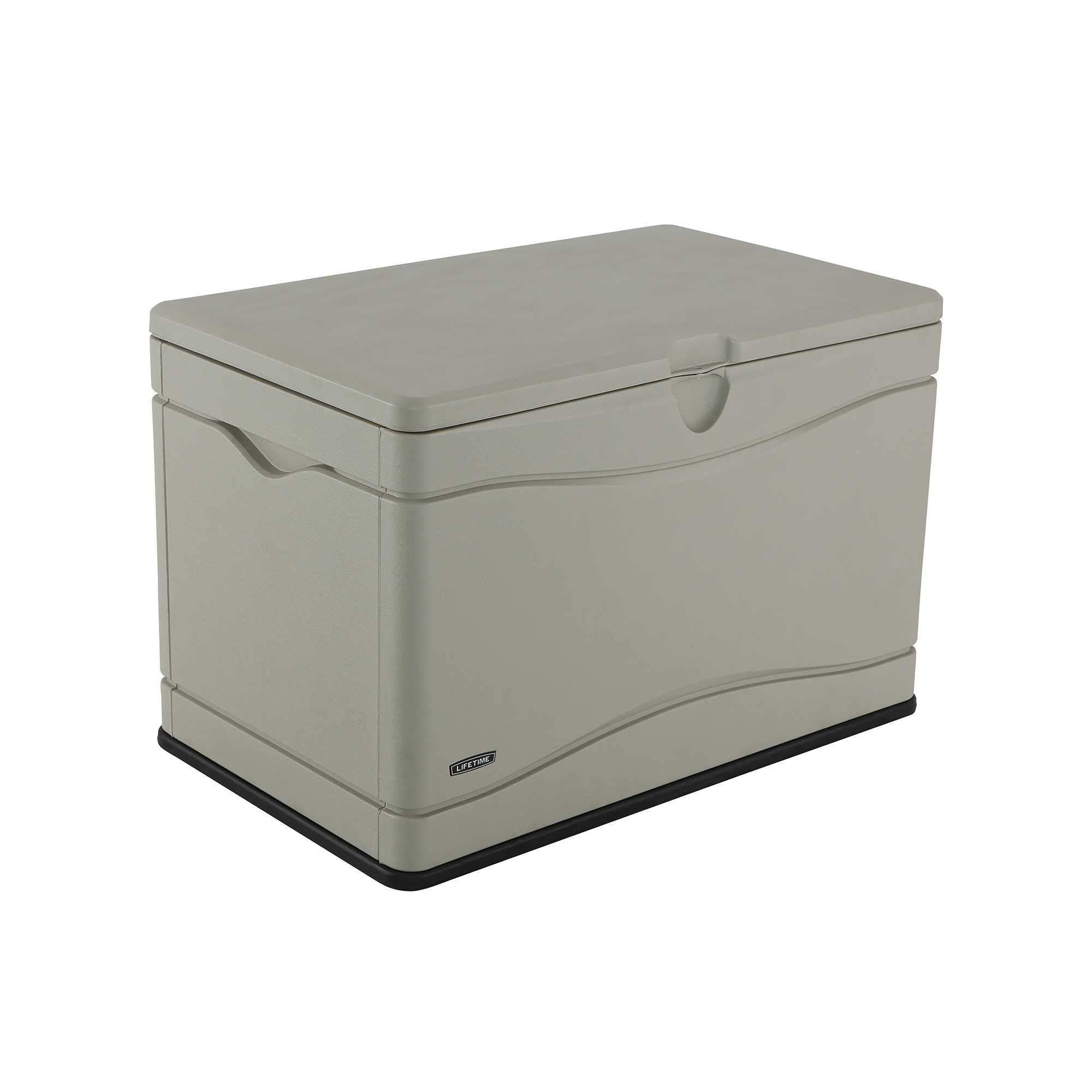 Lifetime 60059 Outdoor Storage Deck Box, 80 Gallon, Desert Sand by Lifetime