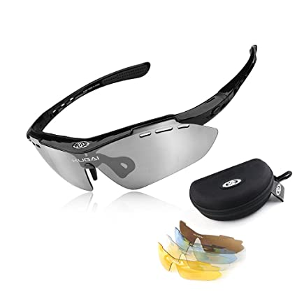 Amazon.com: hkbayi® Deporte anteojos de sol anteojos de sol ...