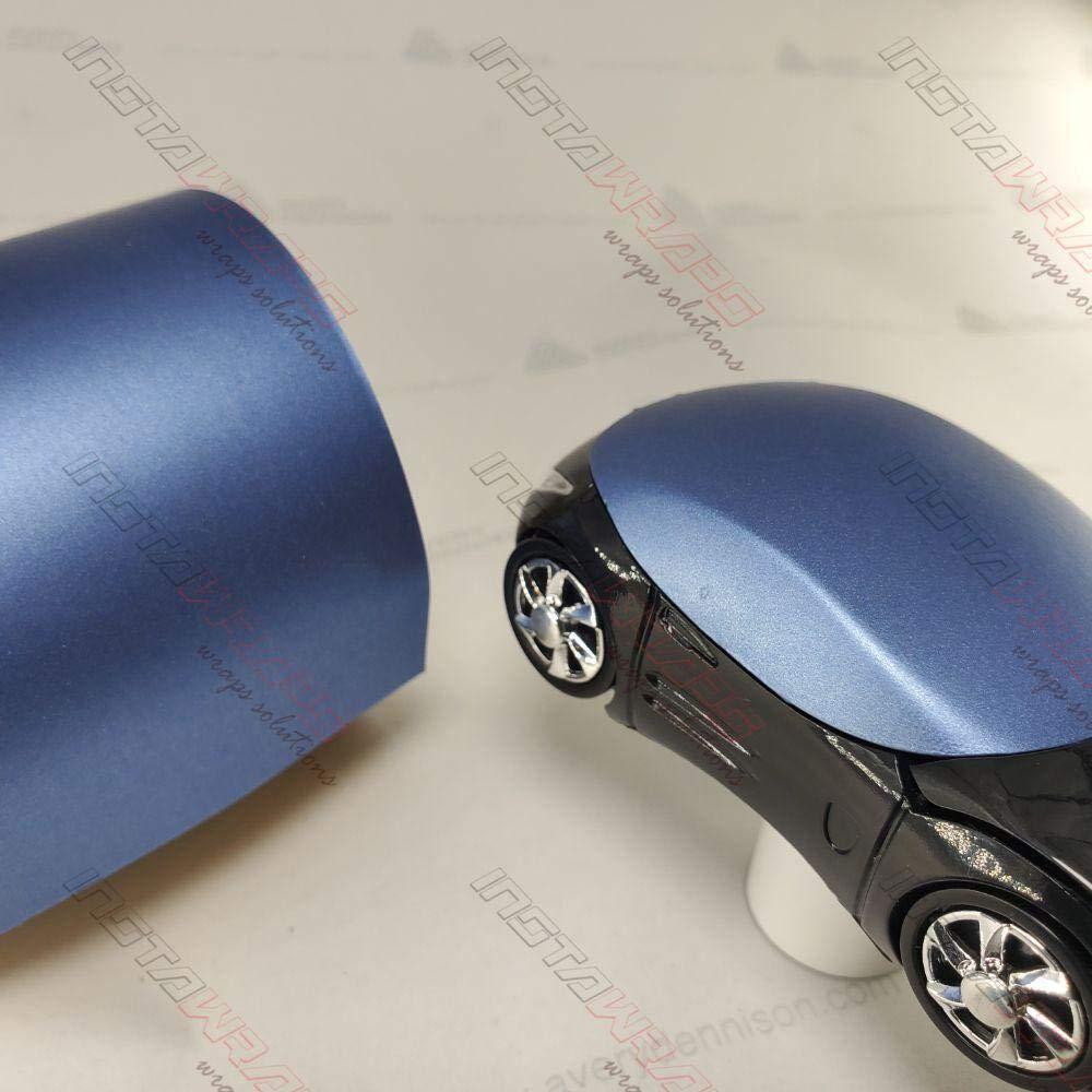 Avery SW900-614-M MATTE POWDER BLUE METALLIC Vinyl Vehicle Car Wrap Decal Roll