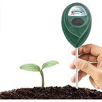 QoFina VloerpH-meter, bodemvochtigheidsmeter, kit van pH-meter voor vocht, licht en PH-meter, nuttig voor tuin, tuin…