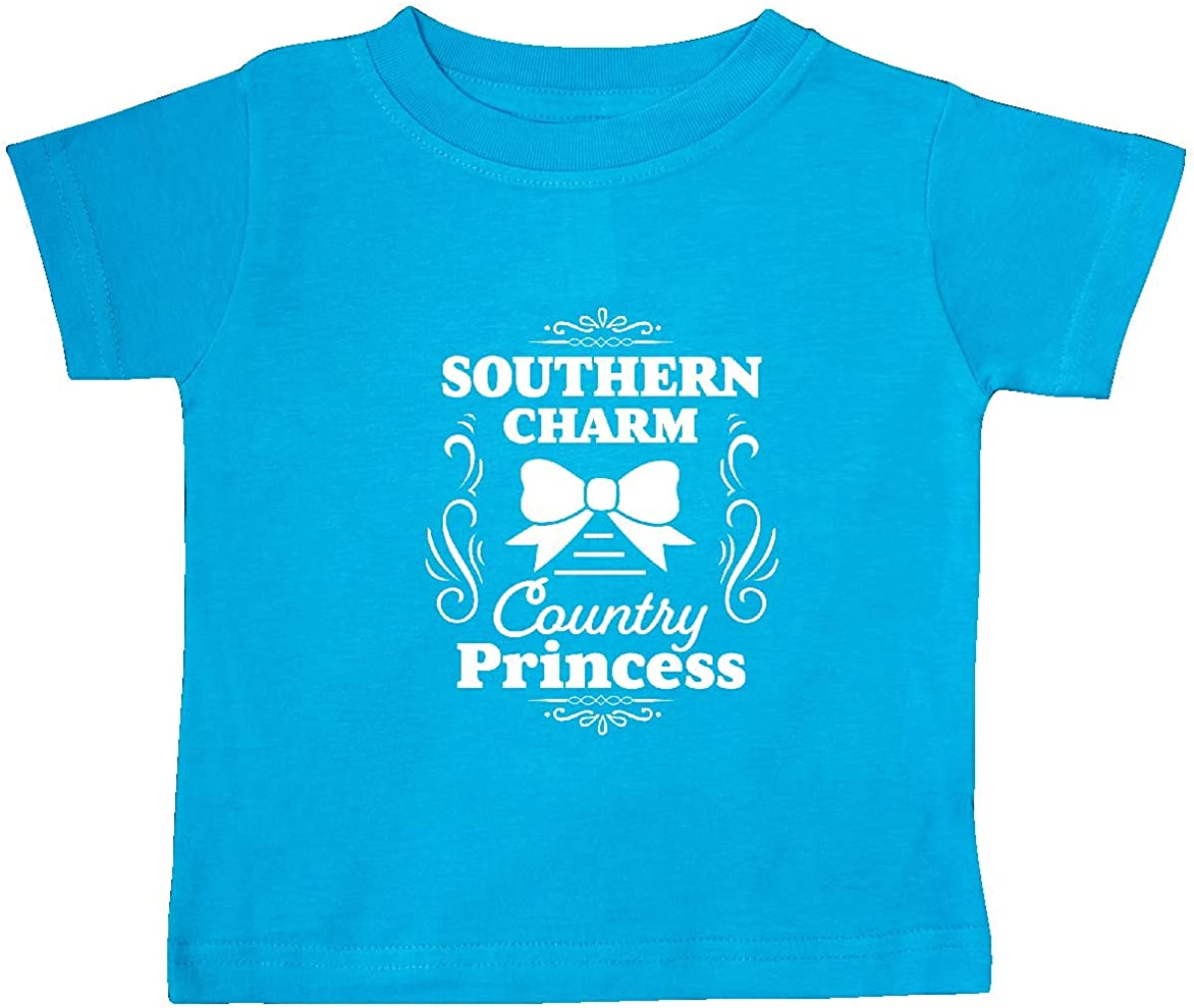 inktastic Southern Charm Country Princess with Bow Baby T-Shirt
