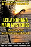 Front cover for the book MURDER IN MAUI (A Leila Kahana Mystery) by R. Barri Flowers
