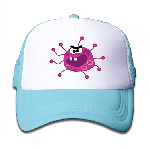 35a288c68b8 Image Unavailable. Image not available for. Color  Elephant an Pink Cute  Virus Mesh Baseball Cap Kid Boys Girls Adjustable Golf Trucker Hat