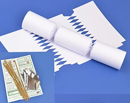 12 basic white make fill your own cracker kits diy christmas 12 basic white make fill your own cracker kits diy christmas cracker crafts solutioingenieria Gallery